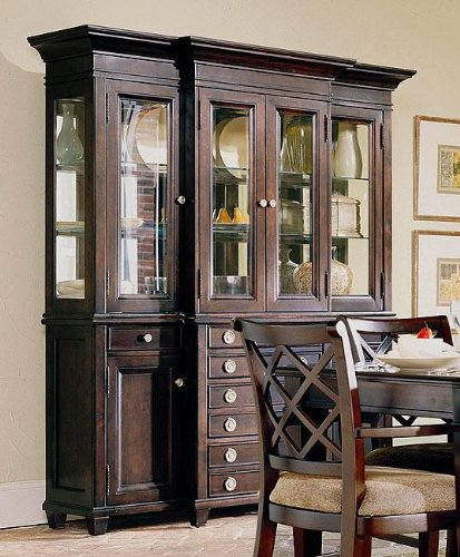 Buy Low Price Lane Gramercy Park Hutch And Buffet G642 64gp