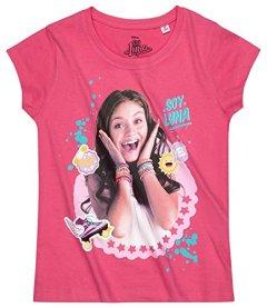 Disney-Soy-Luna-Chicas-Camiseta-de-manga-corta-2016-Collection-Fuxia