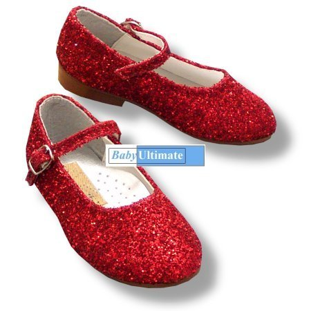 Toddler Size  Ruby Red Shoes