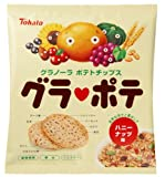 東ハト グラポテ ハニーナッツ味 50g×12袋