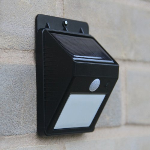 Motion Detector Lights Solar Powered