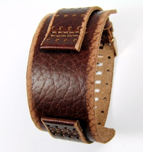 Fossil Ersatzband Uhrenarmband Leder Band 22mm JR9040