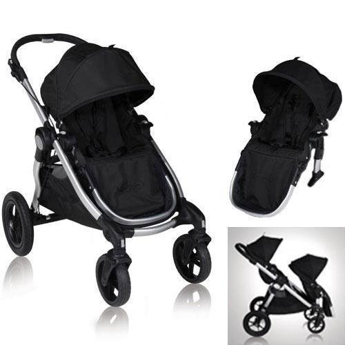 2ca93e82a Baby Jogger City Select Stroller with Second Seat – Onyx