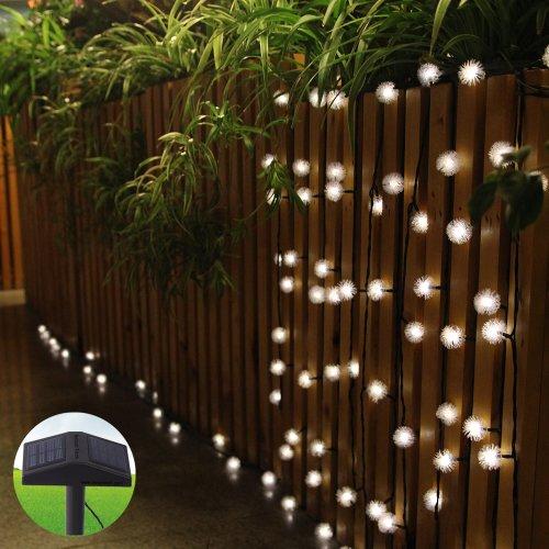 Solar Outdoor Patio String Lights