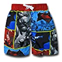 Batman Vs Superman Blocks Kids Swim Trunks
