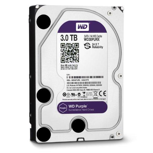 WD Purple 3.5inch IntelliPower 3.0TB 64MBキャッシュ SATA3.0 WD30PURX
