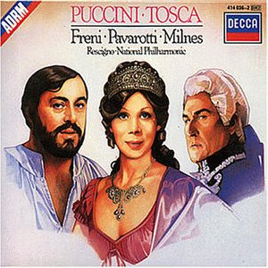 """Cover of """"Puccini: Tosca / Freni, Pavarot..."""