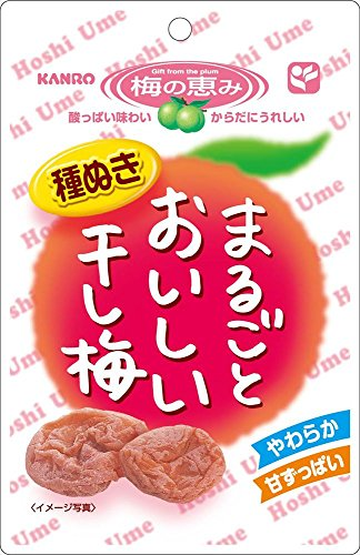 カンロ まるごとおいしい干し梅 27g×6袋