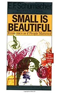 "Cover of ""Small Is Beautiful: Economics a..."