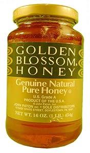 Amazoncom Golden Blossom Genuine Natural Pure Honey