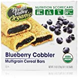 Health Valley Cereal Bars, Blueberry Cobbler, 6 Count