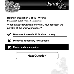 Ultimate Parables Quiz (A Bible Quiz Game for Kindle) by HandyX