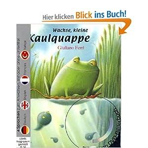 Wachse, kleine Kaulquappe (Buch mit DVD)