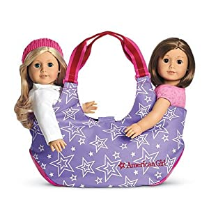 American Girl Two Doll Tote For Girls Bag