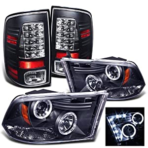 Amazon: Rxmotoring 20102011 Dodge Ram 3500 Projector Headlights  Tail Light: Automotive