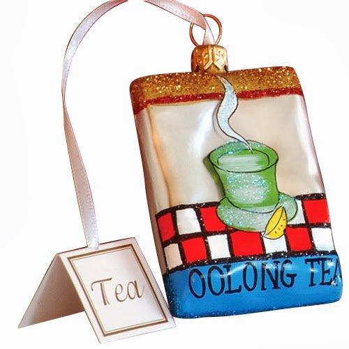 OOLONG TEA Christmas Ornament