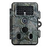 Wildkamera, Vtin 2.4 Zoll LCD, 12MP 1080P HD, IP66 Wasserdichte Wild Camo mit 120 Grad Weitwinkel, Low Glow Infrarot Fotofalle SnapShot Jagd Kamera, Jagdzeug, überwachungskamera für Nacht Vision
