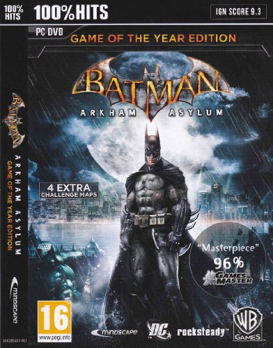 Batman Arkham Asylum:Game of the Year Edition (PC) (輸入版)