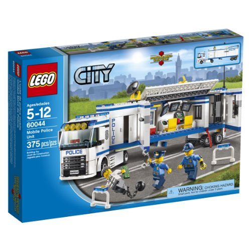 LEGO Building Toys for 5 Year Old Boys Police Unit