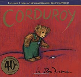 "Cover of ""Corduroy (40th Anniversary Edit..."