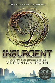 Insurgent (Divergent Series) by Veronica Roth| wearewordnerds.com