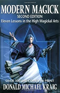 """Cover of """"Modern Magick: Eleven Lessons i..."""