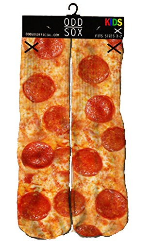 Odd Sox Pizza Kids Retro Socks