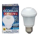 アイリスオーヤマ LED電球 人感センサー付mini 40w相当 昼白色 485lm LDA6N-H-S5