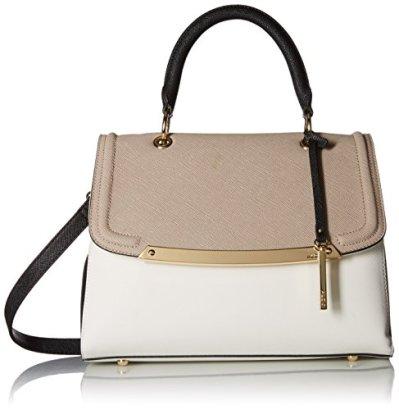 Aldo-Orange-Top-Handle-Handbag-Grey