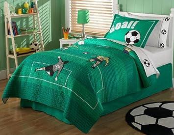 Pem America Soccer Quilt Set