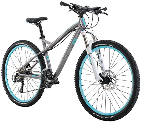 Diamondback Bicycles Women's 2016 Lux Sport Hard Tail Complete Mountain Bike, 17