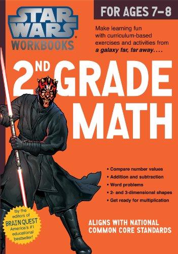 Star Wars Workbook: 2nd Grade Math (Star Wars Workbooks)