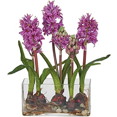 Product Image Hyacinth Silk Flower Arrangement