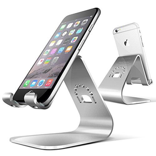 Spinido® TI-APEX Series iPhone対応 デスクスタンド メグネシウム‐アルミニウム合金 iPhonesilver