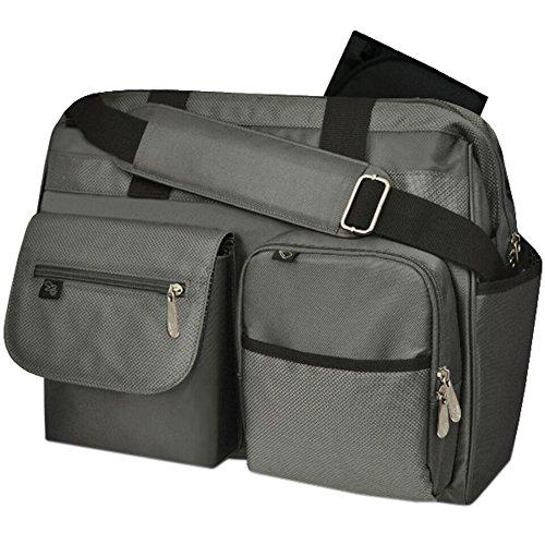 Fast Finder Diaper Bag Grey