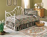 Fashion Bed Group Emma Antique-White Metal Daybed with Link Spring