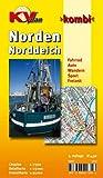 Norden / Norddeich 1 : 15 000: Freizeitkarte 1:25.000, Cityplan 1:7.500. Fahrrad. Auto. Wandern. Sport. Freizeit