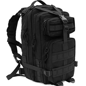 CVLIFE-Outdoor-Tactical-Backpack-Military-Rucksacks-for-Camping-Hiking-and-Trekking-Waterproof-30L