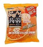 オリヒロプランデュ ぷるんと蒟蒻ゼリーパウチ 温州みかん 20gx6個×6袋