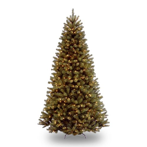 best price national tree 9 north valley spruce tree hinged 700 clear lights nrv7 300 90 black friday cyber monday - Black Friday Christmas Lights