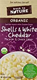 Back to Nature Organic Shells and White Cheddar Macaroni and Cheese Dinner, 6 Ounce