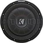 Kicker 10CVT104 10-Inch CompVT Series Shallow Mount Subwoofer for $79.36 + Shipping