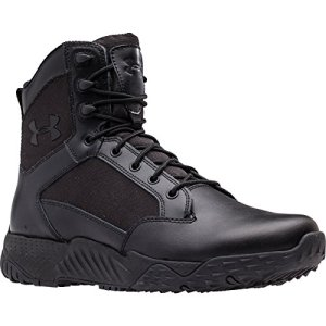 Under Armour Men's Stellar Tactical Boots, Black/Black, 10