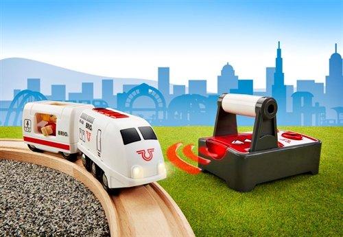 BRIO Remote Control Travel Train