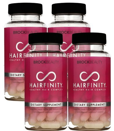 4 months hairfinity vitamins healthy hair rapid long hair growth coiffeur store