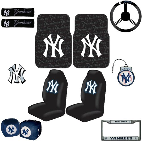 New York Yankees 12 Pc Ultimate Fan Auto Accessories