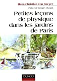 Petites leçons de physique dans les jardins de Paris