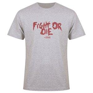 The-Strain-Mens-Fight-or-Die-T-Shirt-White-XXL