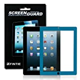 Fintie EZ-Guard Clear Bubble Free / Hassle Free installation Screen Protector for iPad 4th Generation With Retina Display, the New iPad 3 & iPad 2 - Blue