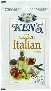 Amazoncom Ken39s Golden Italian Dressing 15 oz 60